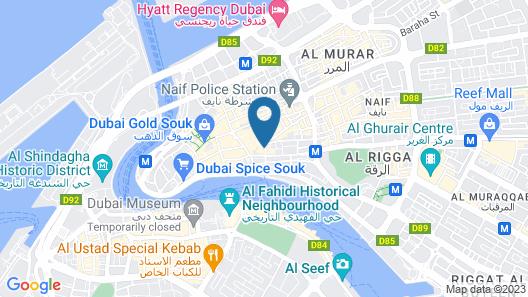 Mariana Hotel Map