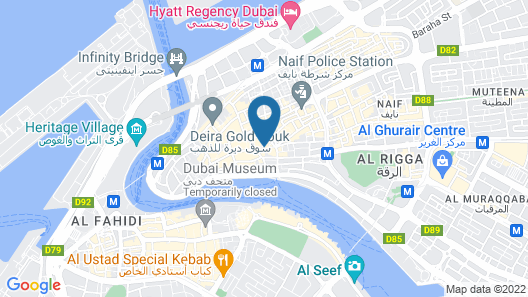 Grand Sina Hotel Map