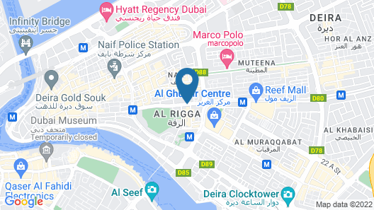 Hyatt Place Wasl District Residences Map