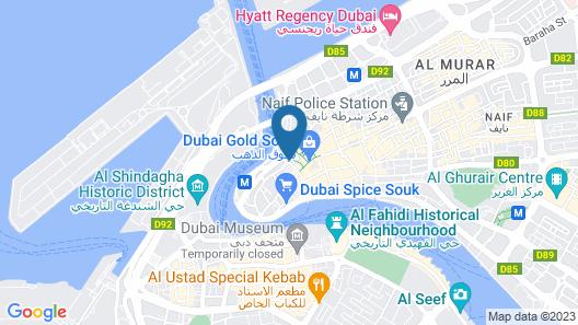 Galaxy Plaza Hotel Map