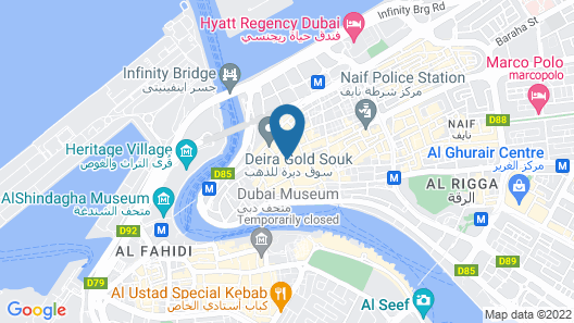OYO 314 24 Gold Hotel Map