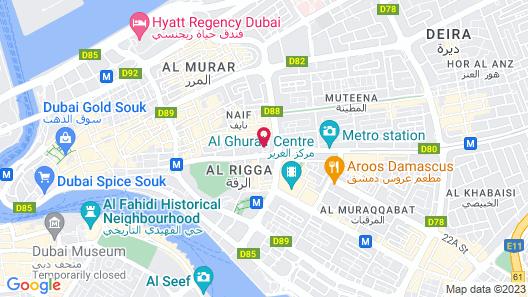 Hyatt Place Dubai Wasl District Map