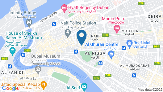 Kings Square Hotel Map
