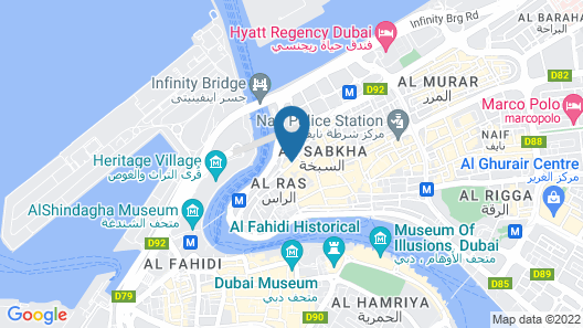 Dream White Hotel Map
