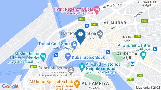 Tanha Hotel Map