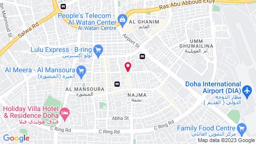 Safir Hotel Doha Map