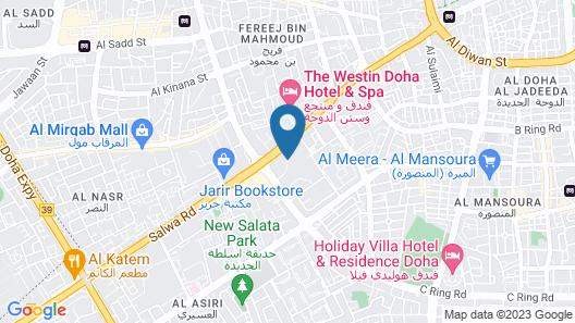 Radisson Blu Hotel Doha Map