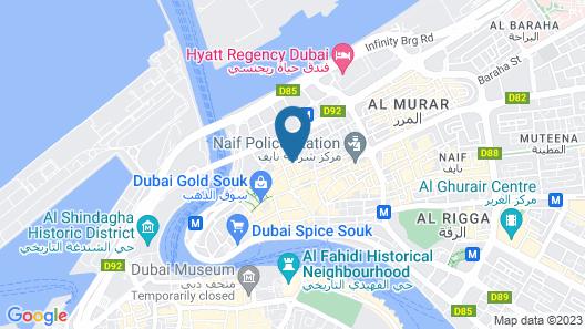 OYO 157 Al Khaima Hotel Map