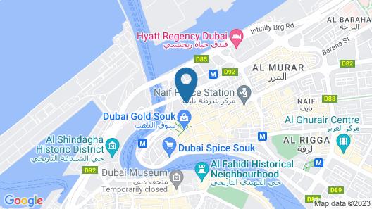 Super 8 by Wyndham Dubai Deira Map