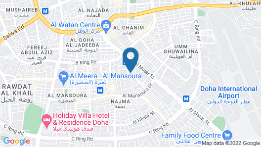 Crowne Plaza Doha - The Business Park, an IHG Hotel Map