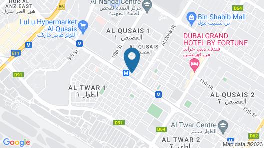 Princess Hotel Map