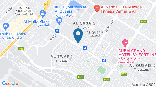 Al Bustan Residence Hotel-Apartments Map
