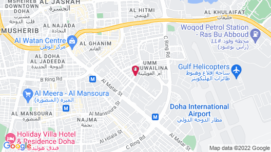 Al Liwan Suites Map
