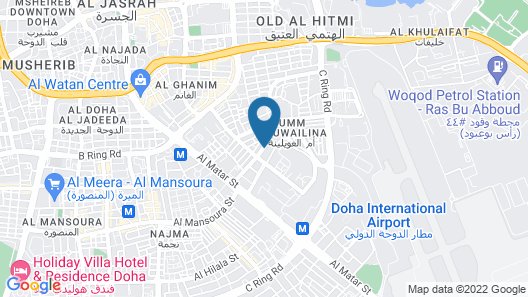 Al Liwan Suites Map