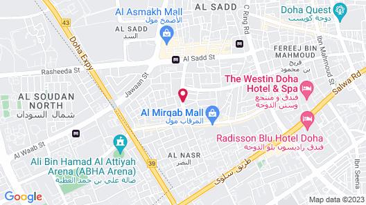 DoubleTree by Hilton Doha - Al Sadd Map