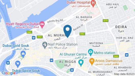 Delmon Boutique Hotel Map