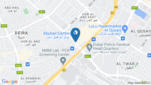 Abjad Grand Hotel Map