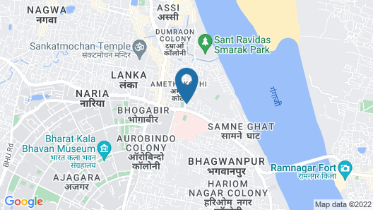 OYO 14898 Hotel Dwarika Map