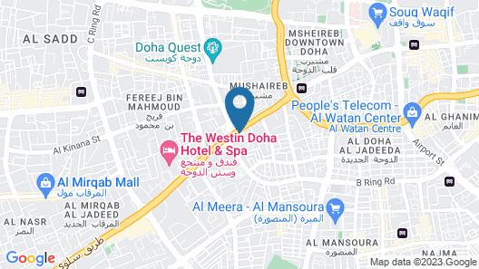 Al Safa Royal Suites Map