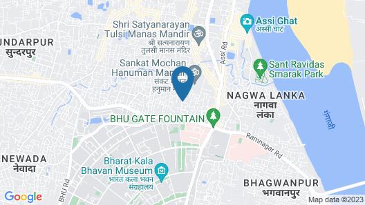 Kuber House Near Sankat Mochan Temple Map