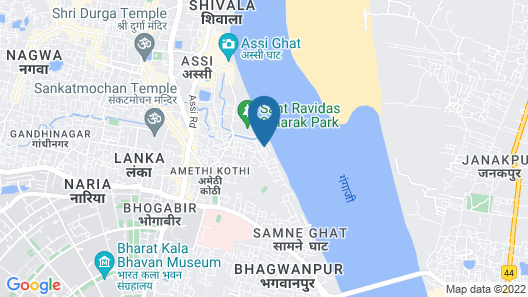 Rahul Guest House Map