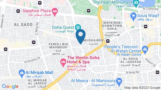 Gulf Paradise Hotel Map