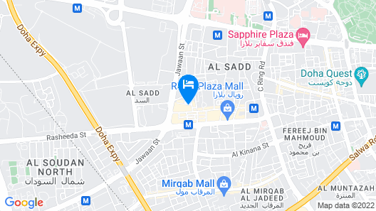 Al Diyafa Furnished Suites Map