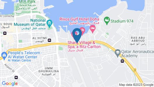Sharq Village & Spa, a Ritz-Carlton Hotel Map