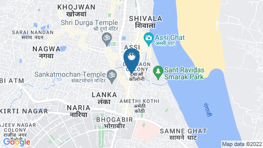 Walkin Shiva P Guest House Map