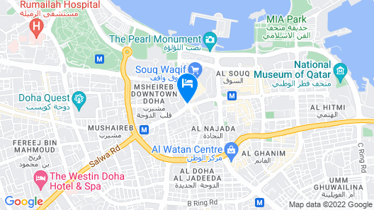 Alwadi Hotel Doha - MGallery Map