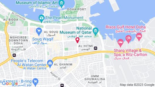 Golden Ocean Hotel Map