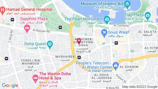 Mandarin Oriental, Doha Map