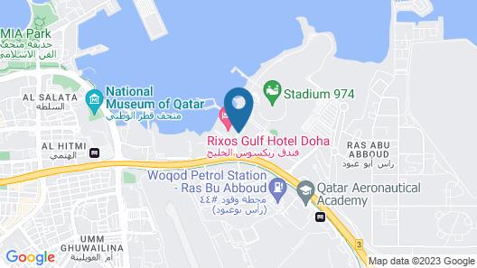 Doha Marriott Map