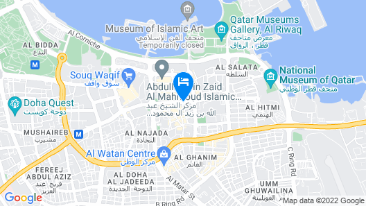 Kingsgate Hotel Doha by Millennium Hotels Map