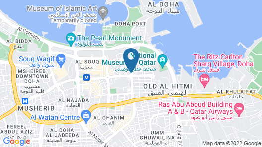 Plaza Inn Doha Map