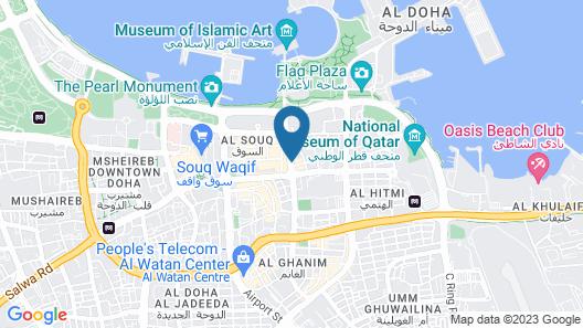 Swiss Belhotel Doha Map