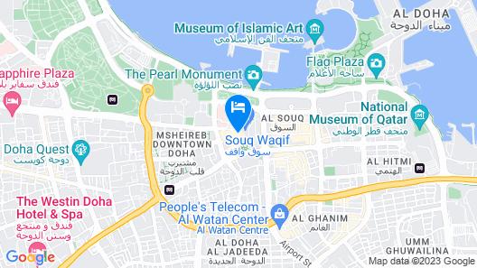 Souq Waqif Boutique Hotels by Tivoli Map