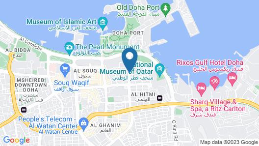 Golden Tulip Doha Map