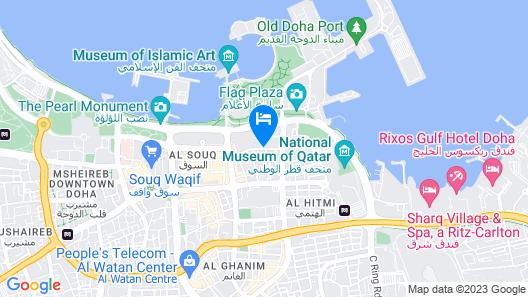 Best Western Plus Doha Map