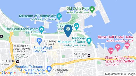 Saraya Corniche Hotel Map