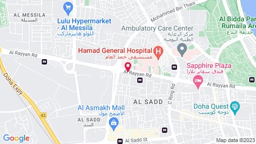 Warwick Doha Map