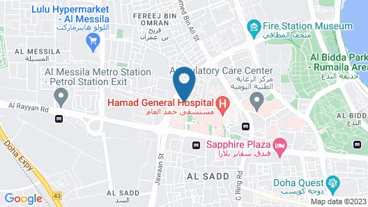 Retaj Residence Al Sadd Map
