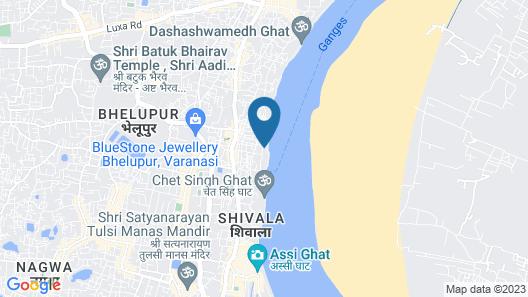 Amritara Suryauday Haveli Map
