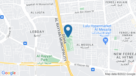Al Messila, a Luxury Collection Resort & Spa, Doha Map