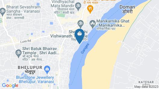 Hotel Sita(place on heritage ghats of benaras) Map