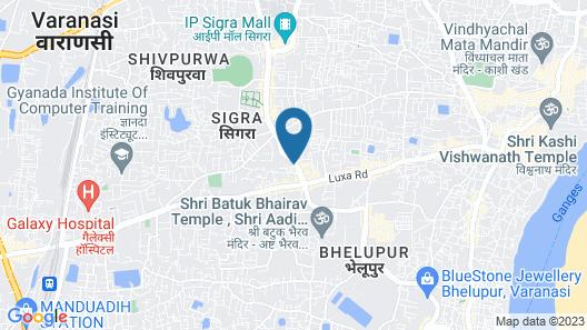 Hotel SLE Residency Map