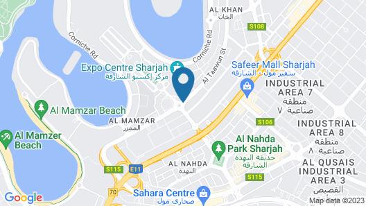 Novotel Sharjah Expo Center Map