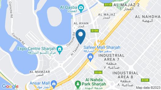 Pullman Sharjah Map