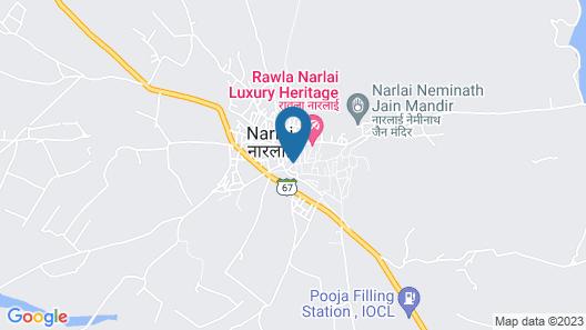 Rawla Narlai Map