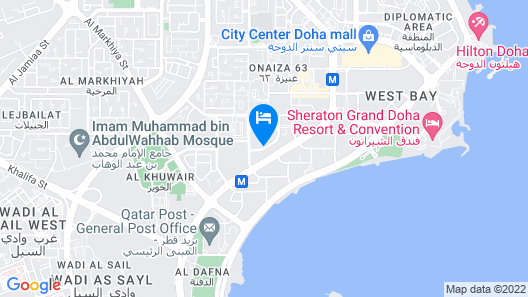 Ezdan Hotel Map
